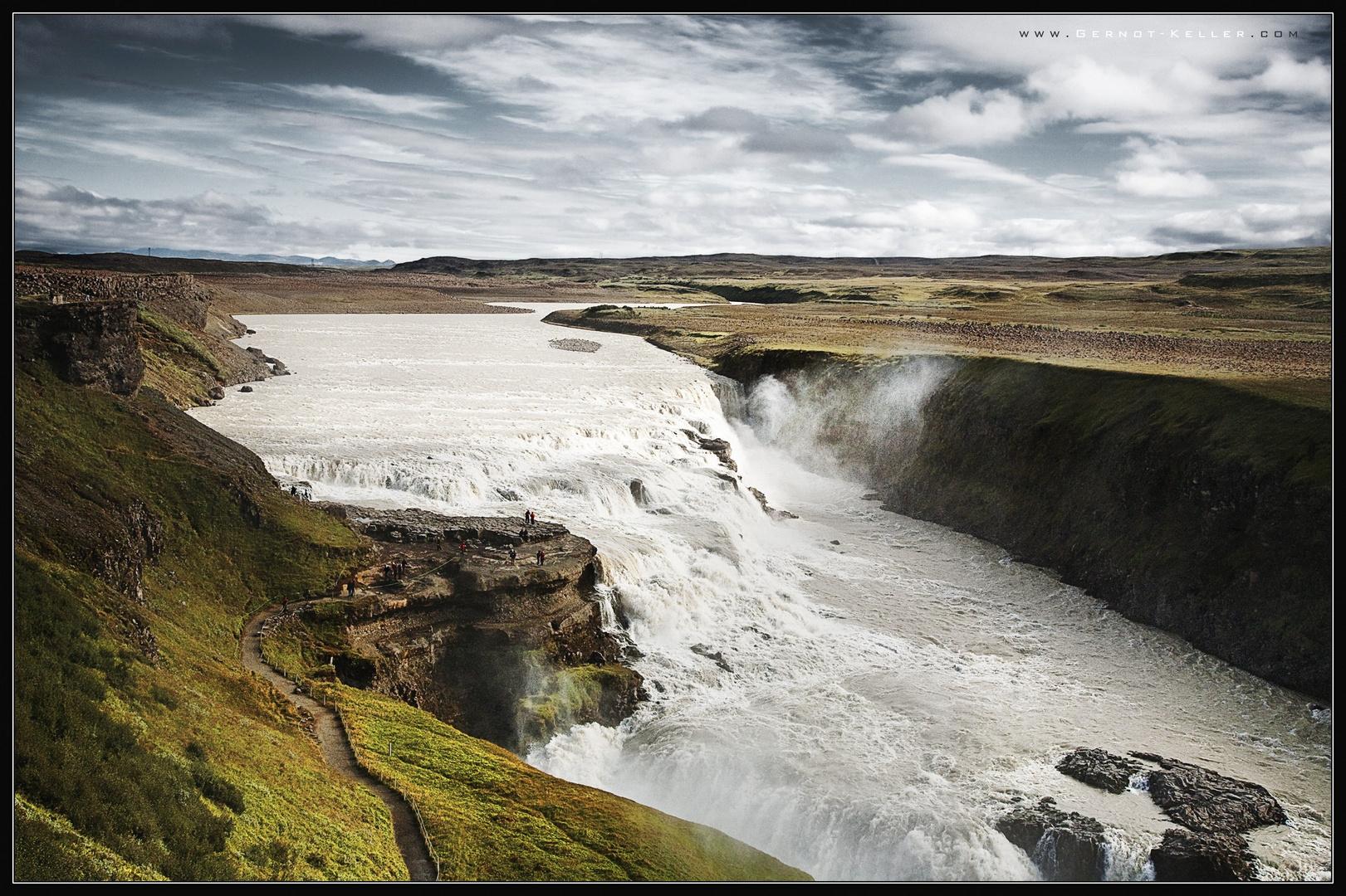 00513 - Iceland, Gullfoss