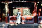 The girl of wearing ancient costume by yuanshan