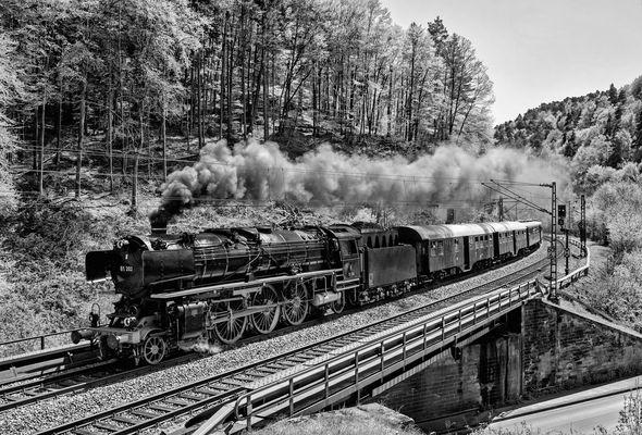 01 202 auf der Pfalzbahn - II -