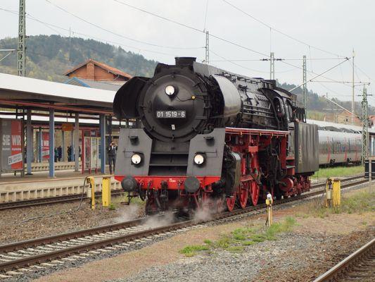 01-er in Eisenach zum Wasser Tanken