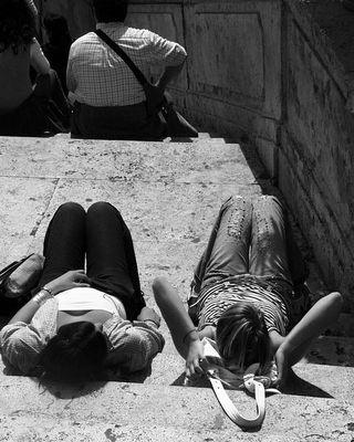 01.05.06, eine Treppe, Rom