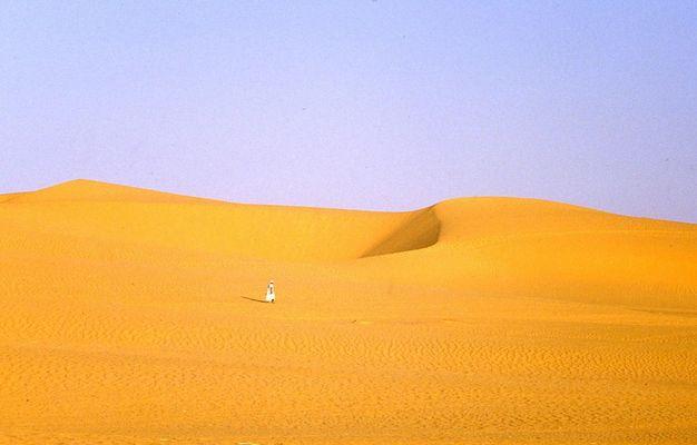 0127 - Nach dem Morgenruf des Muezzins - Oase Queled Said