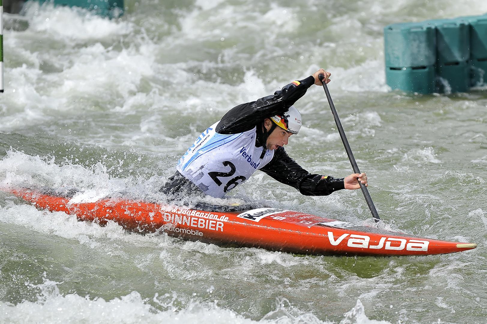 02 Wildwasser Kanu-Europameisterschaft Verbund Wasserarena Wien