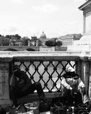 02.05.06, Engelsbrücke, Rom