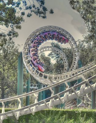 026. Rollercoaster Python in der Efteling