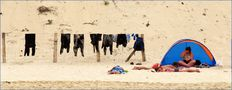 Sur la plage - 2 --- Am Strand – 2 von Jifasch32
