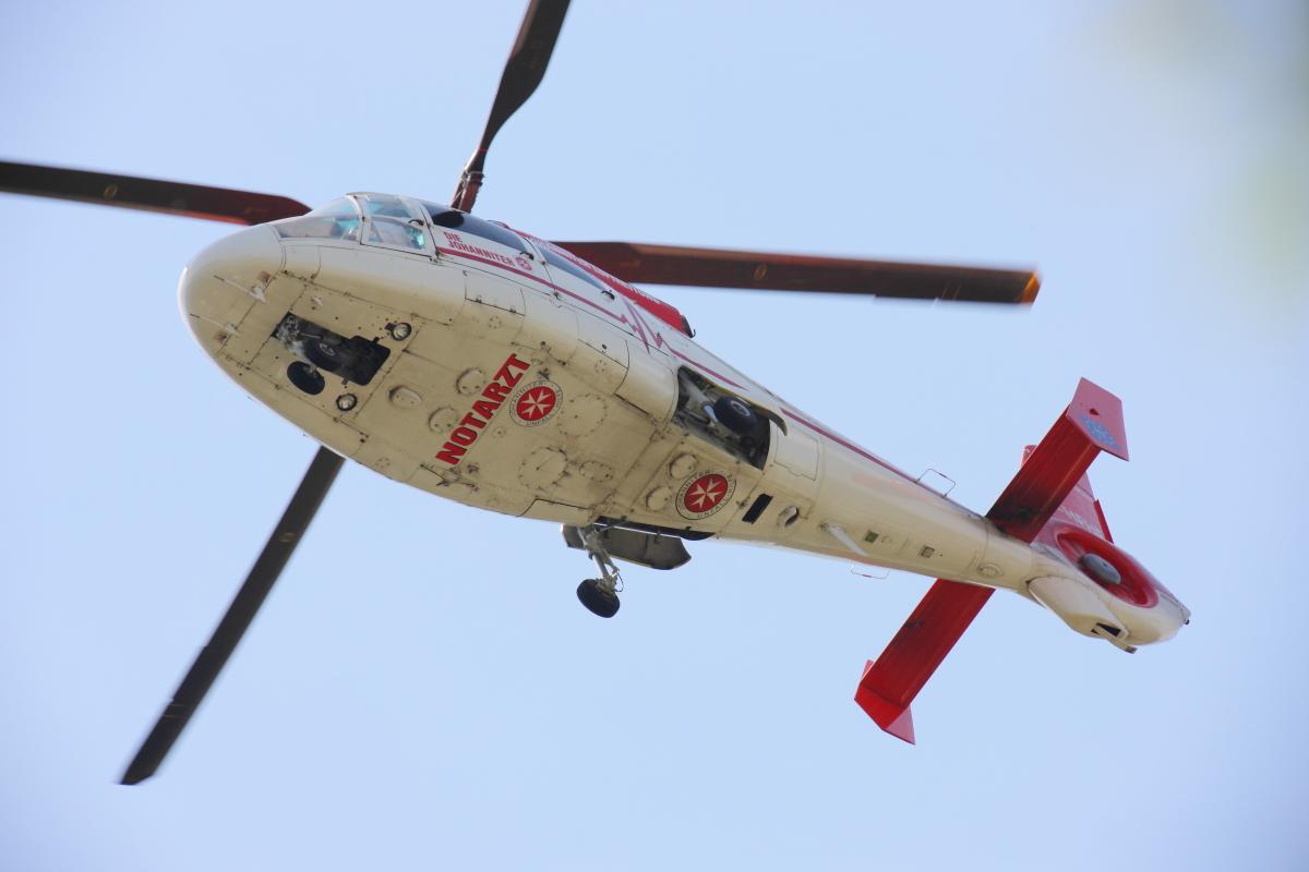 04.05.2014 Herborn Anflug Rettungseinsatz