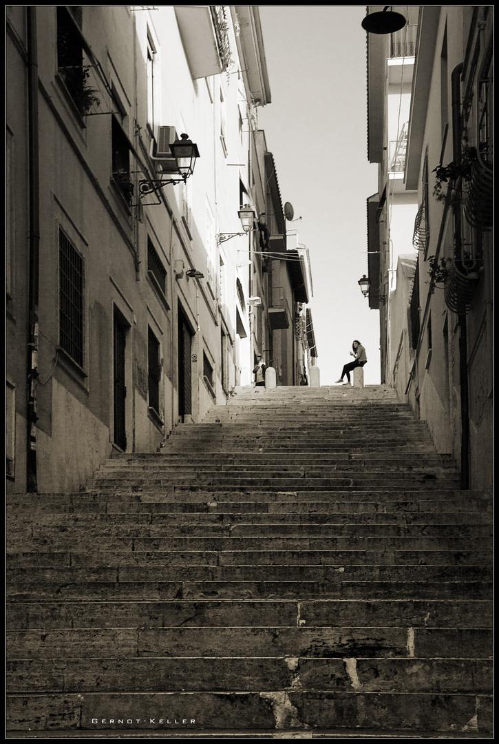 07123 - Stairway to Frascati's Heaven ? (Impression aus Italien)
