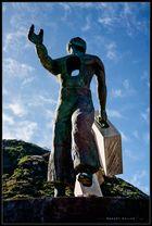 07574 - Teneriffa - Der (Aus-/Ein-) Wanderer von Garachico