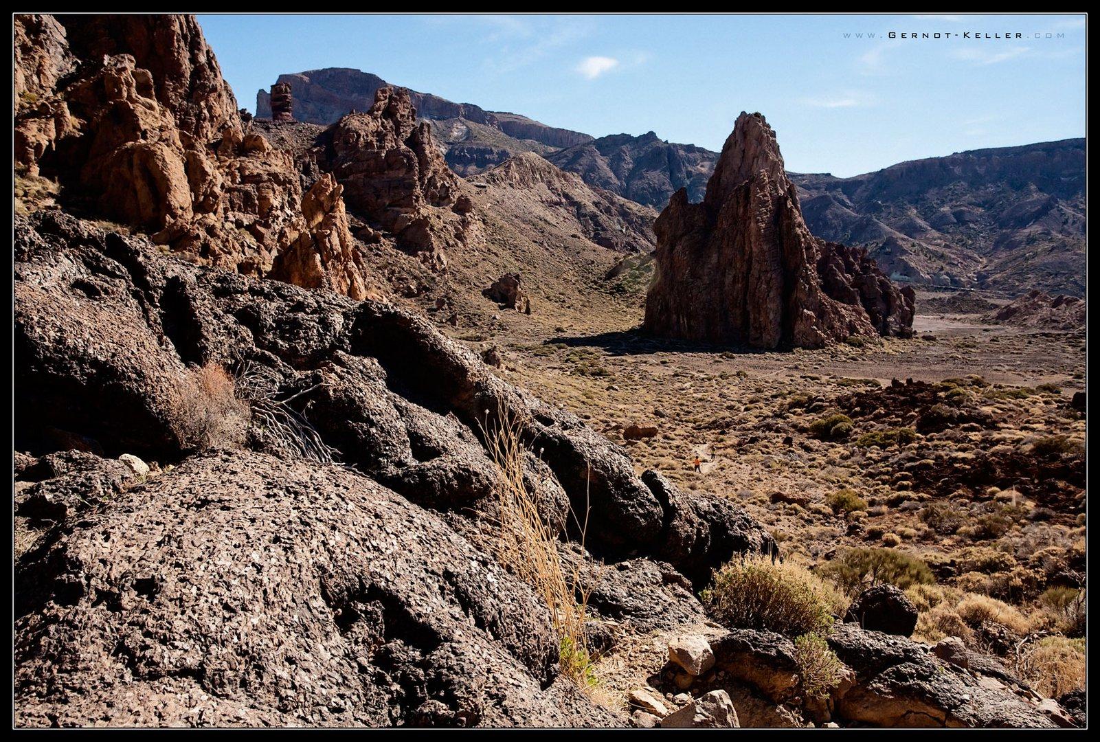 09117 - Teneriffa - In der Caldera des El Teide