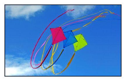 Drachen und Kites