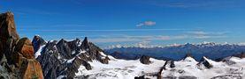 Les Alpes (photo prise de l'Aiguille du Midi) von jonquille80