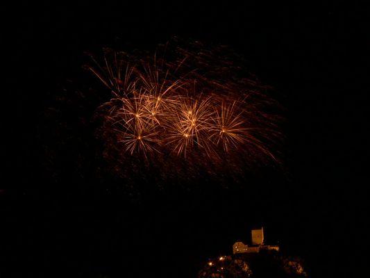 1. August beim Schloss Sargans