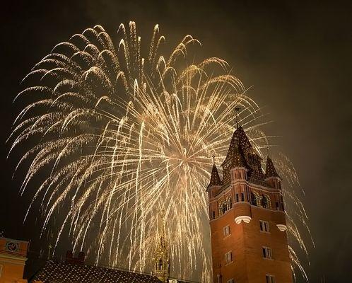 1. August Feuerwerk
