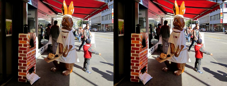 1. Bäcker Osterhase _ Aarau / Kt.AG / Schweiz _ X View