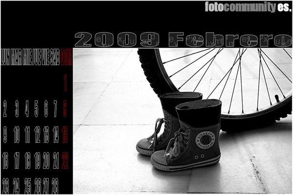 1º CALENDARIO FC ES 2009. FEBRERO