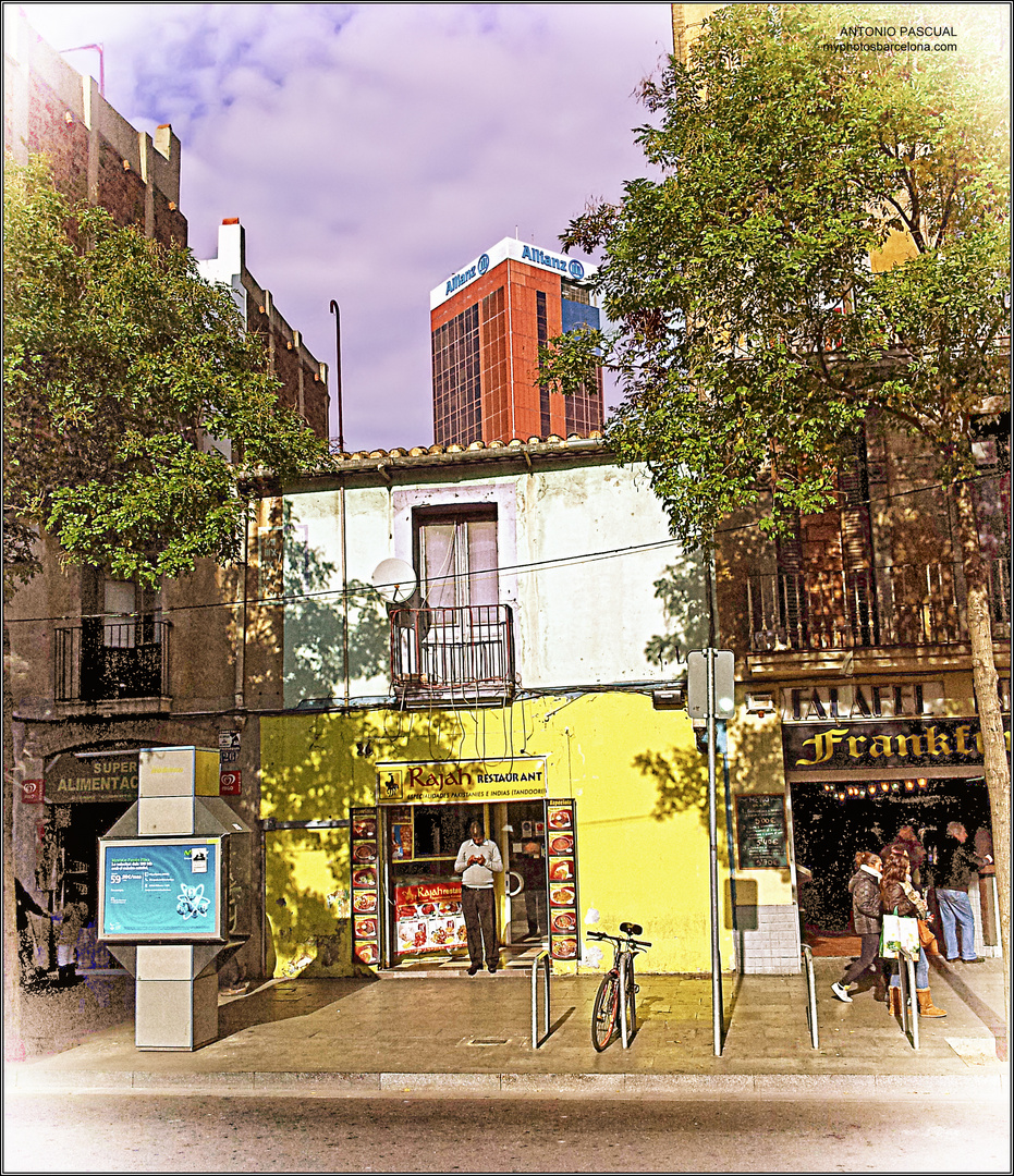1ª casa construida del barrio de Collblanc de Barcelona