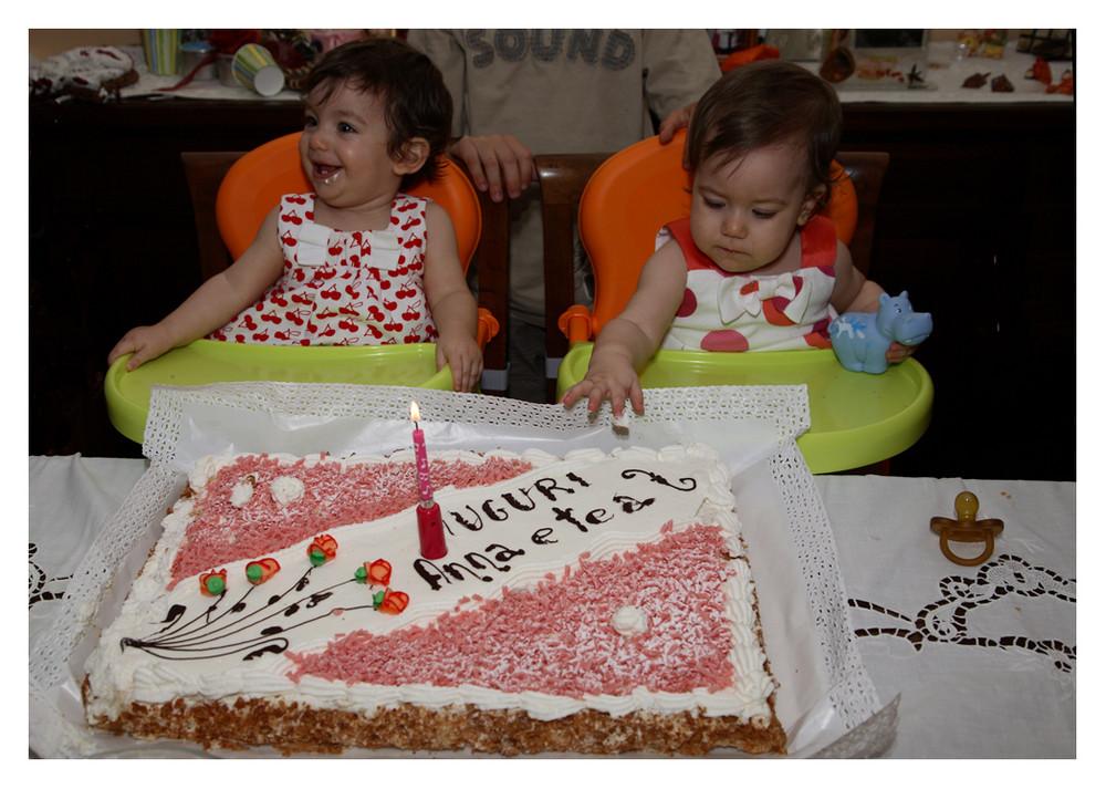 1° Compleanno delle nipotine adottive di FC!!!!