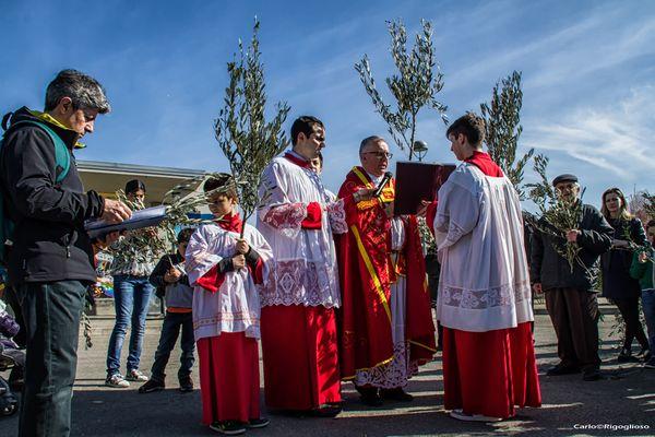 1 - Domenica delle Palme, benedizione degli ulivi