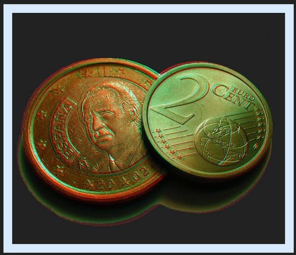 1 EURO und 2 CENT