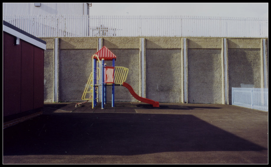 1. Falls Road – playground of a primary school; Republican – 'the struggle' / Belfast I