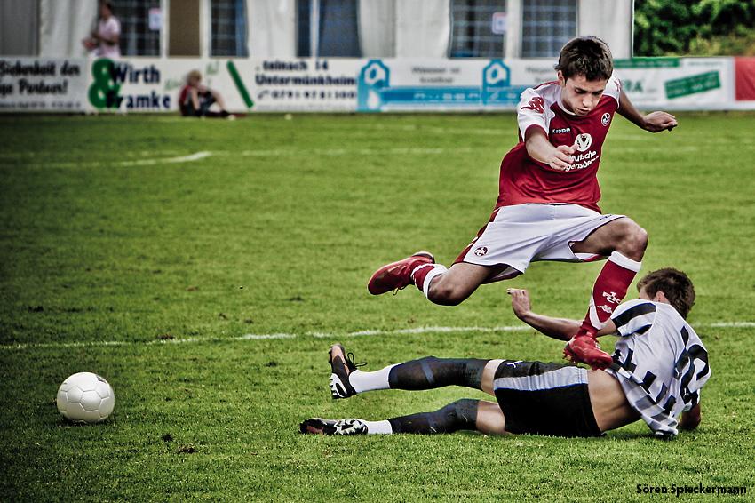 1 FC Kaiserslautern vs. FC POAK Saloniki / A-Jugend
