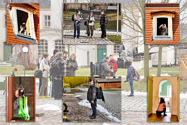 1. Fotoausflug 2012 zum Schloß Blankenhain