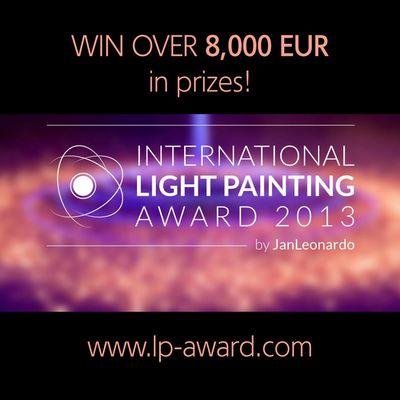 1. International Light Painting Award 2013 (ILPA 2013)