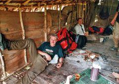 1. Lager bei den Korowai