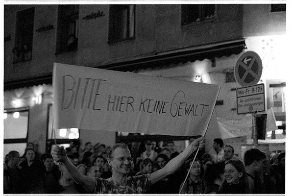 1. mai 2004 berlin kreuzberg #9