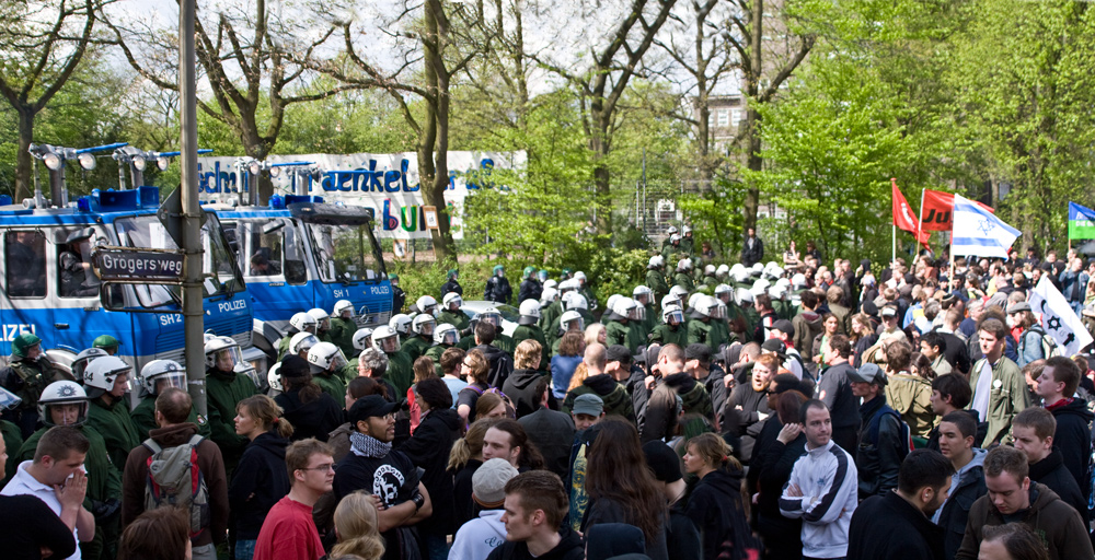 1 Mai in Hamburg