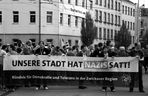 1. Mai in Zwickau...Unsere Stadt hat Nazis satt