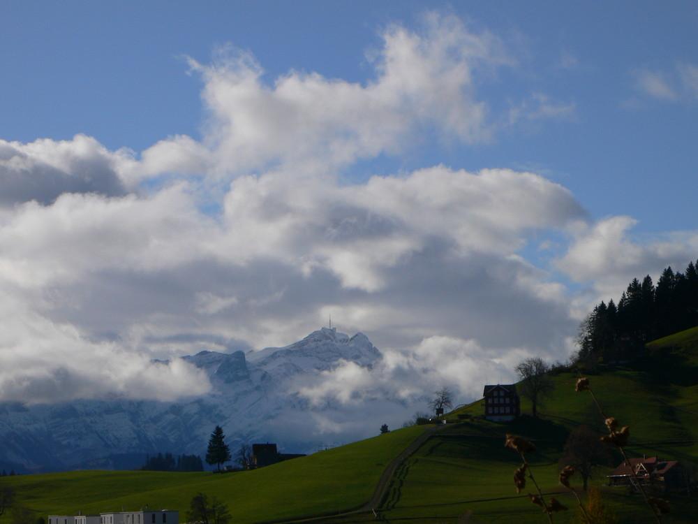 1. November 09 Blick Süd