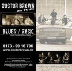 1. offizieller promo-flyer von DOCTOR BROWN
