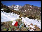 1. Schnee: ´´´´´´´´´´ Aufstieg zum Grünsee