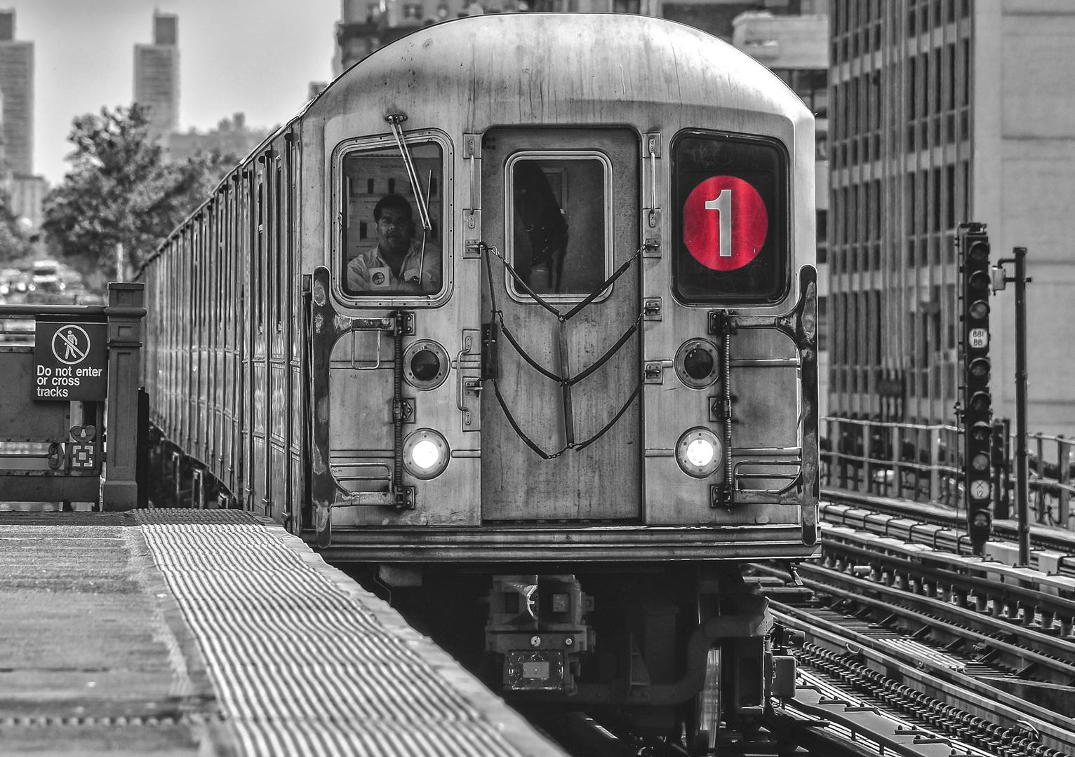 1 Train Uptown