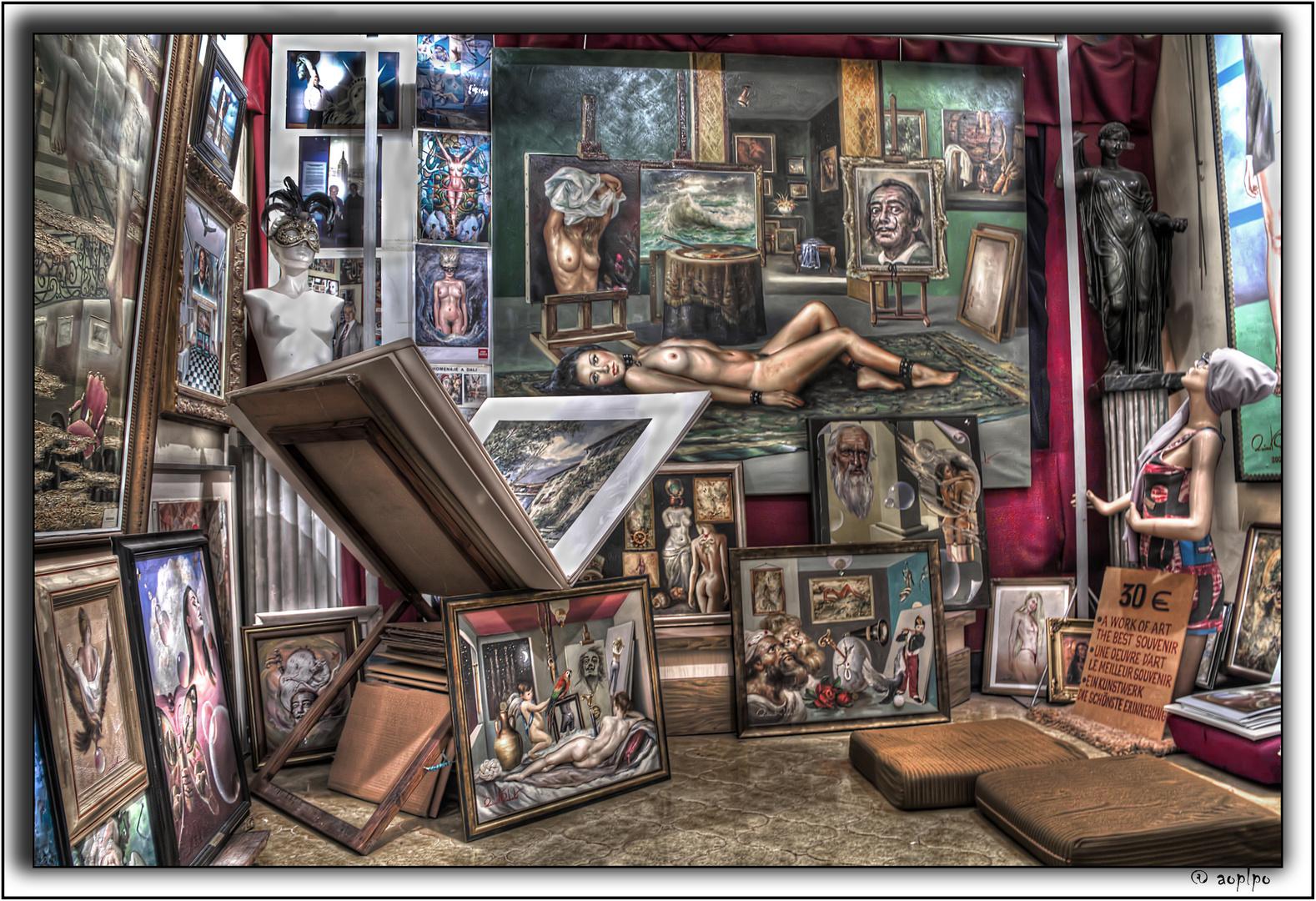 (1) Vista interior estudio Quimet Sabaté