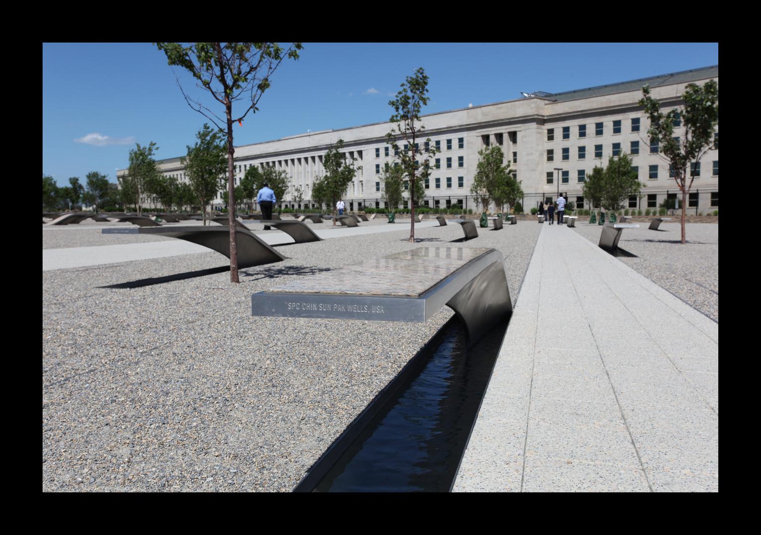 10. Jahrestag des 11. Septermber ,Das Pentagon Memorial