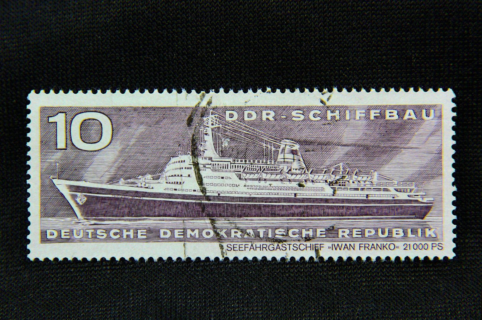 10-Pfennig-Marke der damaligen DDR