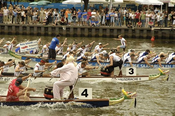 10. Saarspektakel - Drachenbootrennen