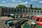 10 Yahre Eisenbahn Museum in Budapest
