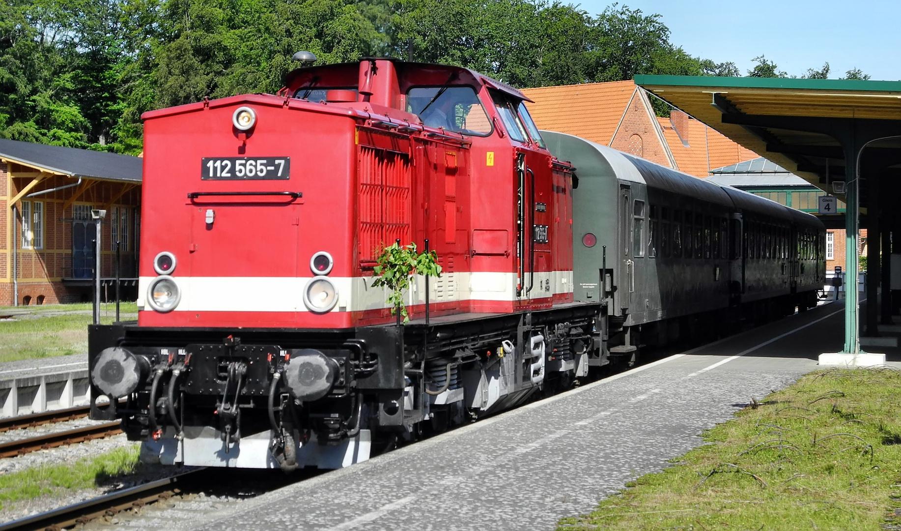 100 Jahre Inselbahn Usedom