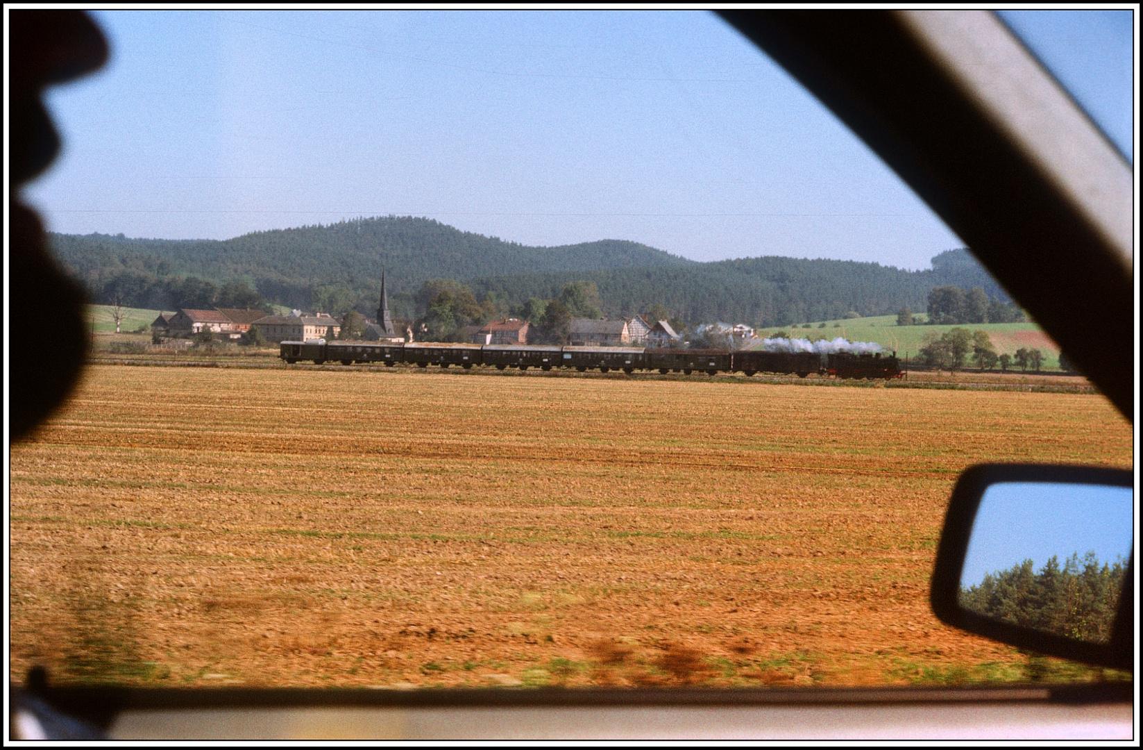 100 Jahre Orlabahn Oktober 1989 die 74 1230 auf der Strecke V