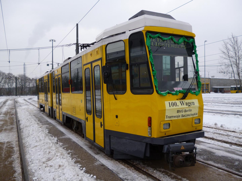 100. Tatra für Stettin