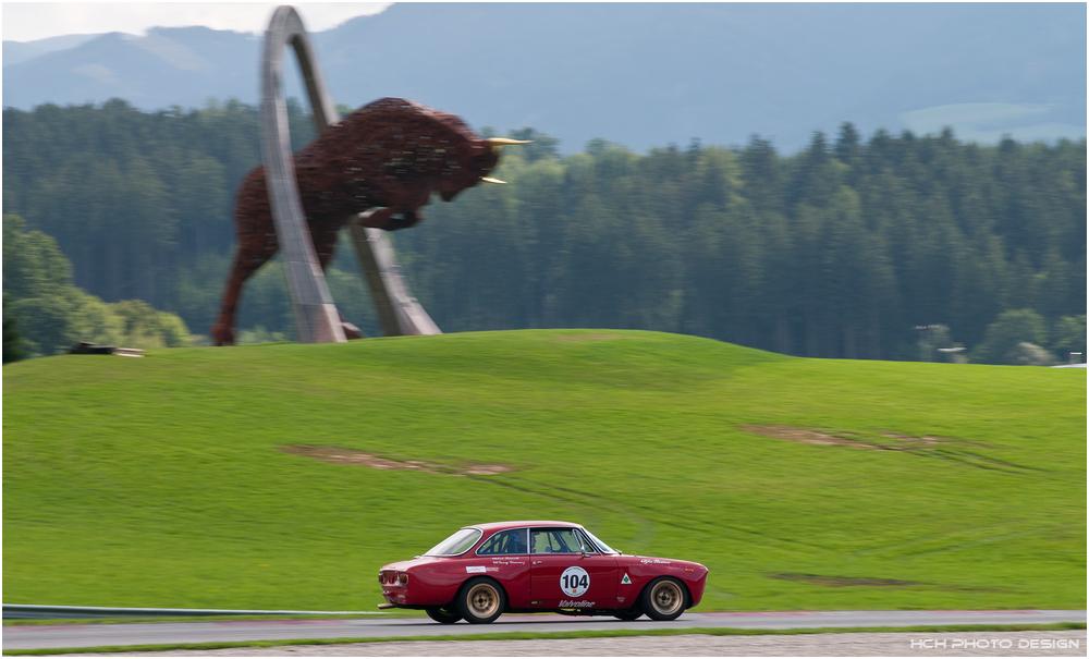 1000 km Ventilspiel 2013 / Alfa Romeo Giulia Sprint GT-Veloce