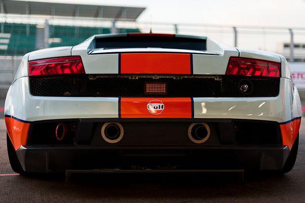 1000km of Silverstone - Gulf Team First Lamborghini LP560-4