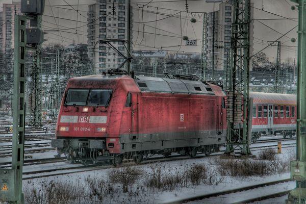 101 062-8, Stuttgart Hbf