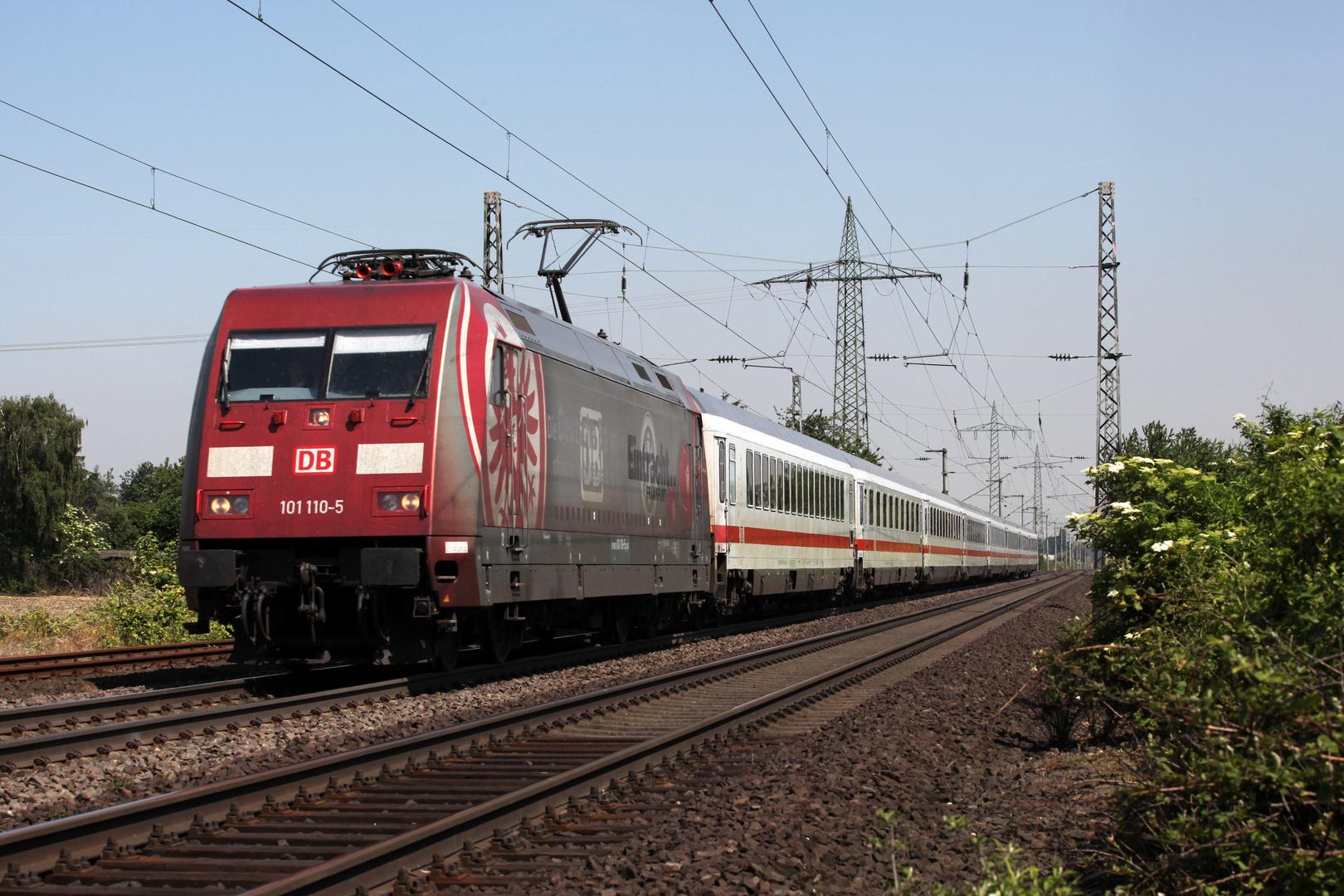 101 110 auf dem Weg nach Oberstdorf