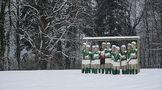 11 Männer im Schnee von Kai Fabian Klimmeck