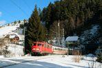 110ern im Schwarzwald und das im IC Verkehr. Einfach herllich